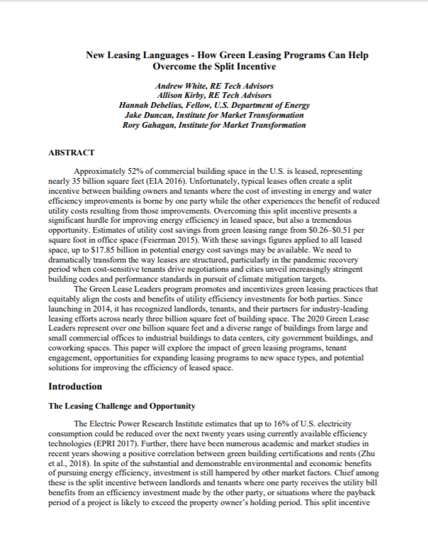 ACEEE GLL Summer Study page