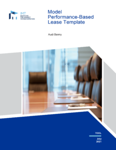 Model Performance-Based Lease Template cover